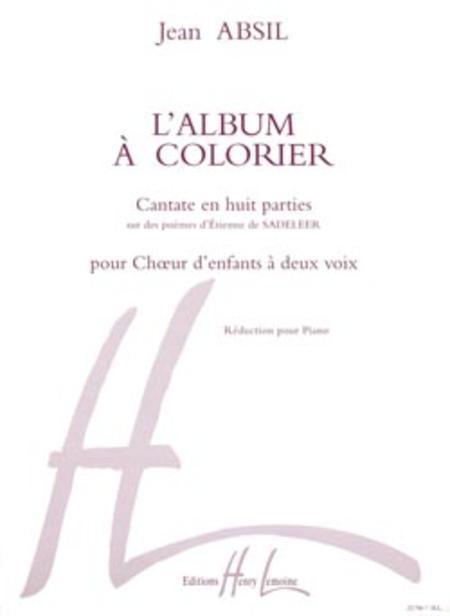 Album a colorier Op. 68 (opera pour enfants)