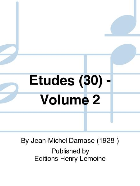 Etudes (30) - Volume 2
