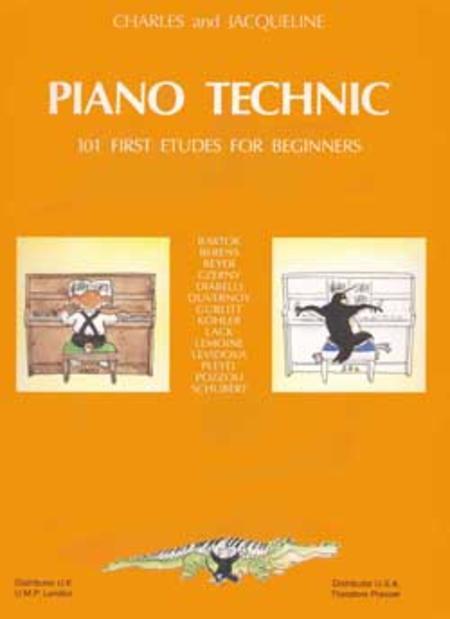 Piano Technic - 101 Studies For Beginners