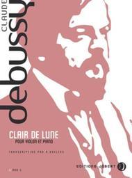 Clair De Lune Sheet Music By Claude Debussy - Sheet Music Plus