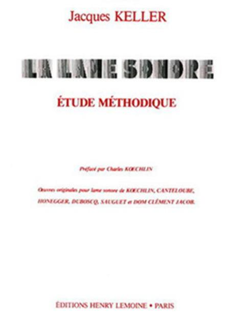 Lame Sonore - Etude Methodique