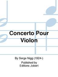 Concerto Pour Violon