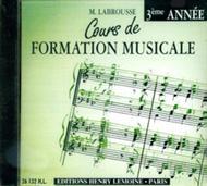 Cours de formation musicale - Volume 3