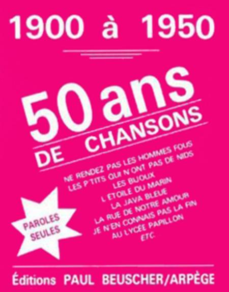 40 Ans De Succes 1900-1940