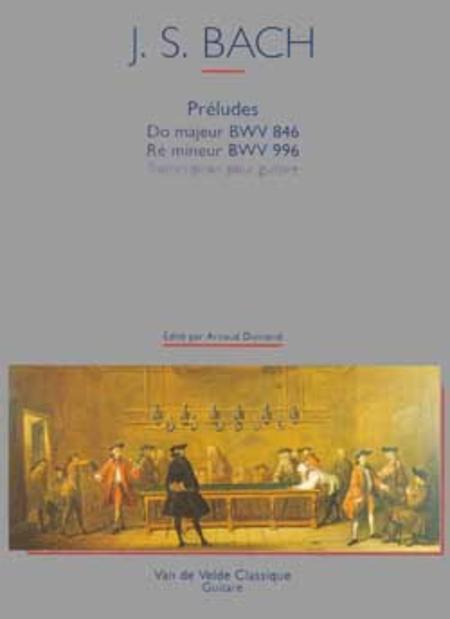 Preludes en Do maj. et Re min. BWV846 et 996