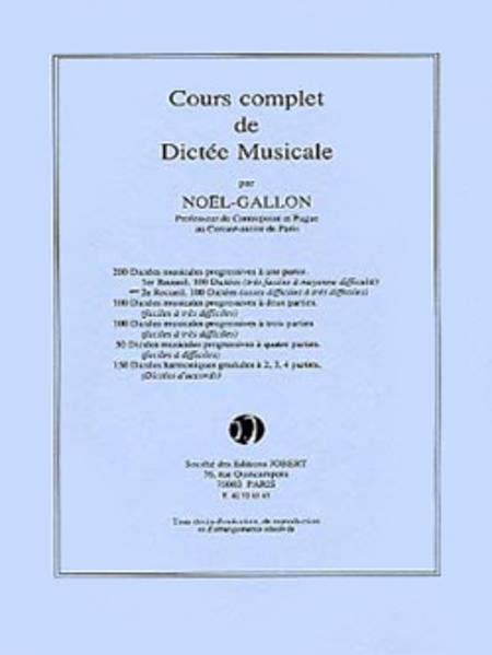 Dictees progressives a 1 partie (200) - Volume 2