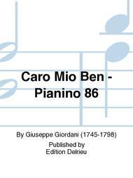 Caro Mio Ben - Pianino 86