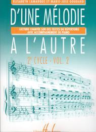 D'une melodie a l'autre - Volume 2