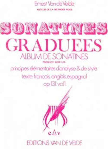 Sonatines graduees - Volume 1