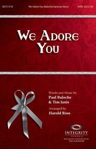 We Adore You - Accompaniment CD