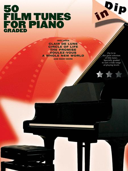 50 Film Tunes for Piano - Graded