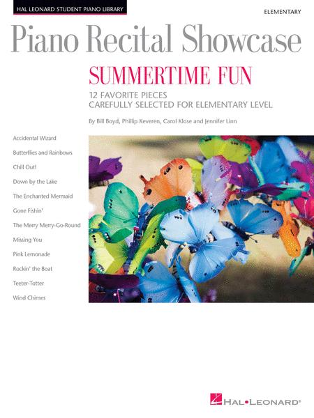 Piano Recital Showcase - Summertime Fun