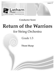 Return of the Warriors for String Orchestra - Score