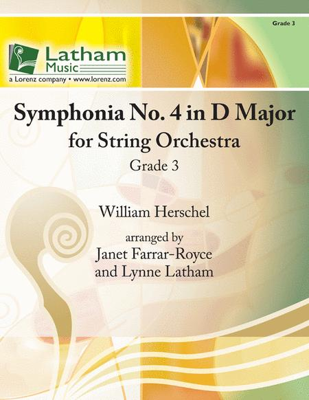 Symphonia No. 4 in D Major for String Orchestra