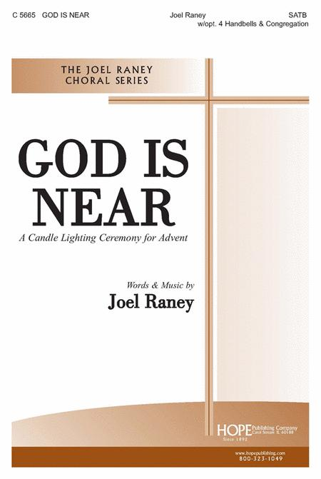 God Is Near: A Candle Lighting Ceremony For Advent