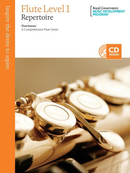 Overtones - A Comprehensive Flute Series: Flute Repertoire 1