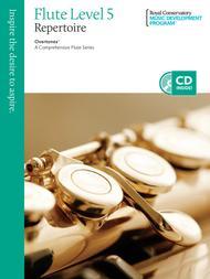 Overtones - A Comprehensive Flute Series: Flute Repertoire 5