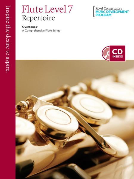 Overtones - A Comprehensive Flute Series: Flute Repertoire 7