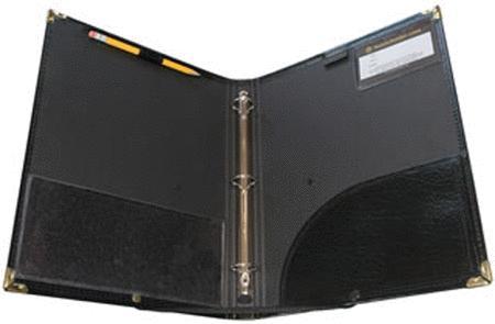 The Black Folder Ring Binder