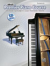 Premier Piano Course Lesson Book, Book 6