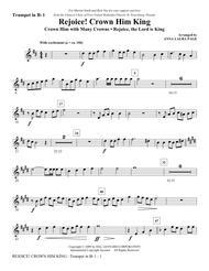 Rejoice! Crown Him King - Bb Trumpet 1