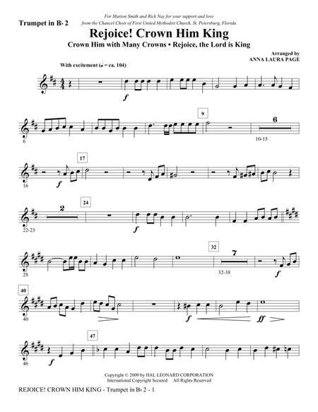 Rejoice! Crown Him King - Bb Trumpet 2