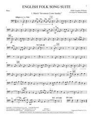 English Folk Song Suite - String Bass