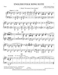 English Folk Song Suite - Piano