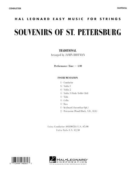Souvenirs Of St. Petersburg - Conductor Score (Full Score)