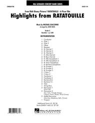 Highlights from Ratatouille - Full Score