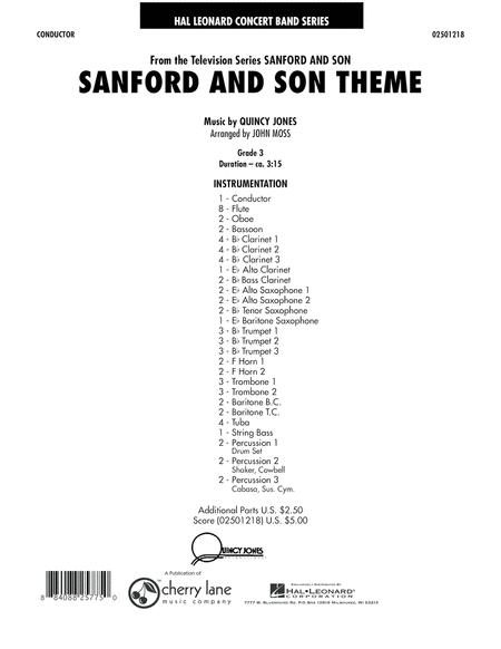 Sanford And Son Theme - Full Score