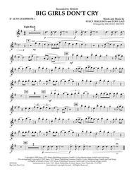 Big Girls Don't Cry - Eb Alto Saxophone 1