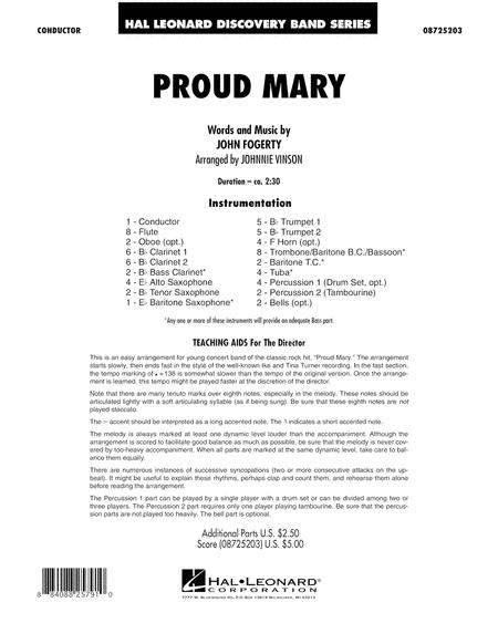 Proud Mary - Full Score