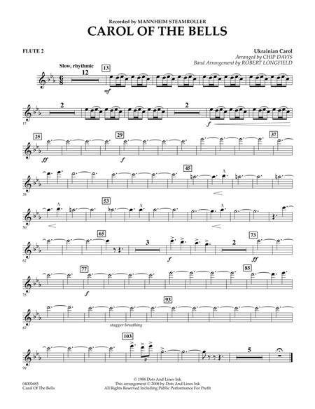 Carol Of The Bells - Flute 2