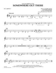 Somewhere Out There (from An American Tail) - Bb Clarinet 2