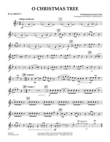O Christmas Tree - Bb Clarinet 1