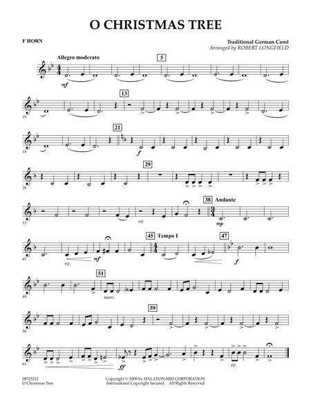 O Christmas Tree - F Horn