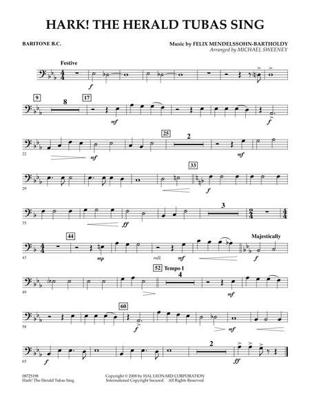 Hark! The Herald Tubas Sing - Baritone B.C.