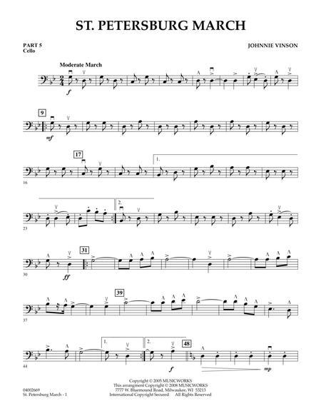 St. Petersburg March - Pt.5 - Cello