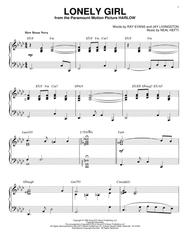 Lonely Girl [Jazz version] (arr. Brent Edstrom)