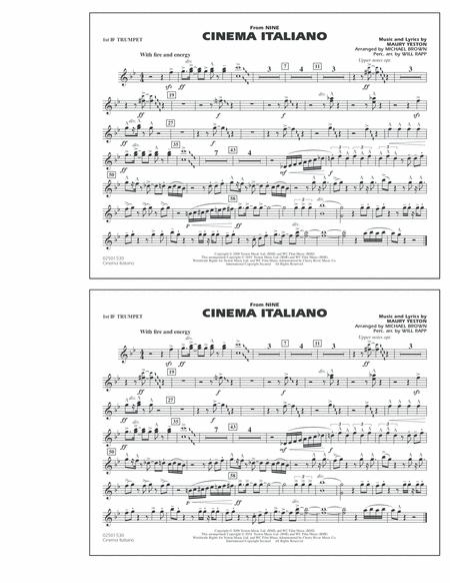 Cinema Italiano (from Nine) - 1st Bb Trumpet