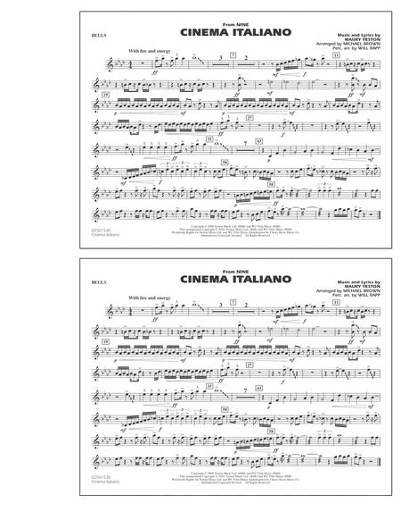 Cinema Italiano (from Nine) - Bells