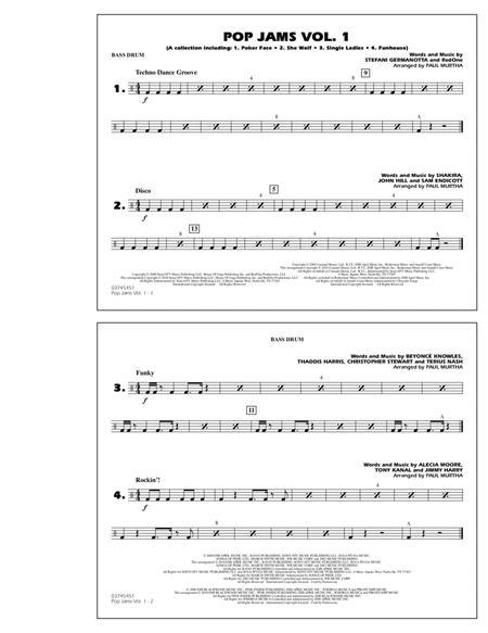 Pop Jams: Vol. 1 - Bass Drum