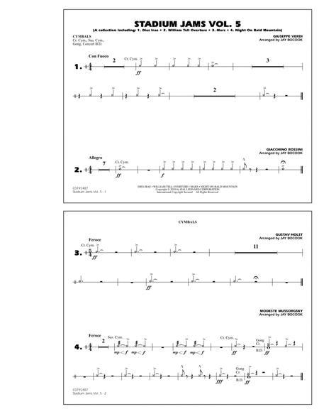 Stadium Jams: Vol. 5 - Cymbals
