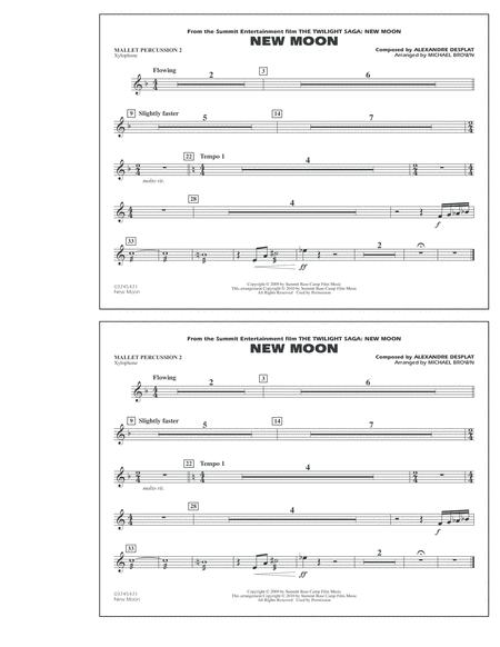 New Moon (The Meadow) - Mallet Percussion 2