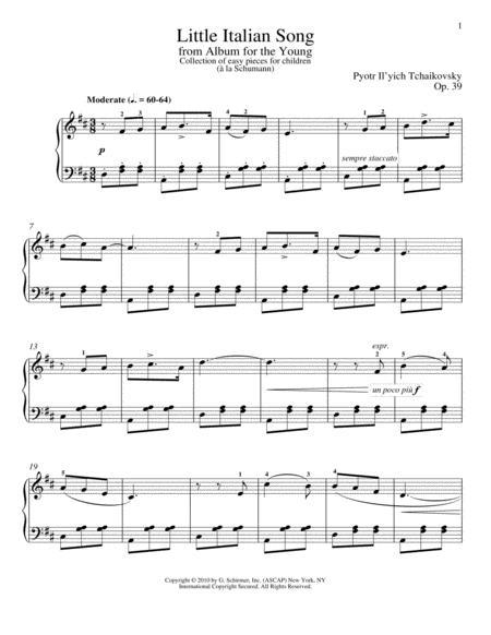 Little Italian Song