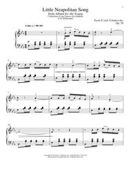 Little Neapolitan Song