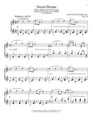 Sweet Dream (Douce Reverie), Op. 39, No. 21 (from Album For The Young)