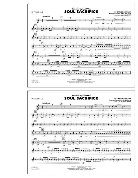 Soul Sacrifice - Bb Tenor Sax