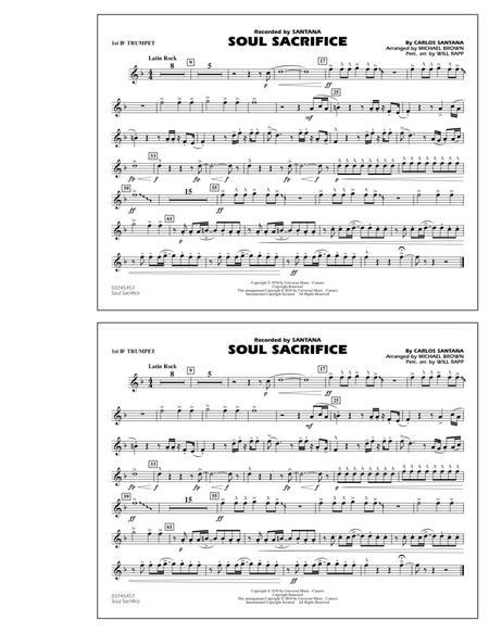 Soul Sacrifice - 1st Bb Trumpet
